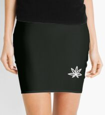 Weed Hempire Mini Skirt