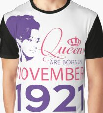 It's My Birthday 97. Made In November 1921. 1921 Gift Ideas. Graphic T-Shirt