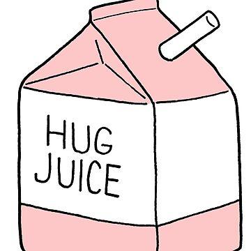 Hug Juice, Pink by RyanToday