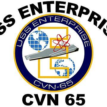 USS Enterprise (CVN-65) by Spacestuffplus