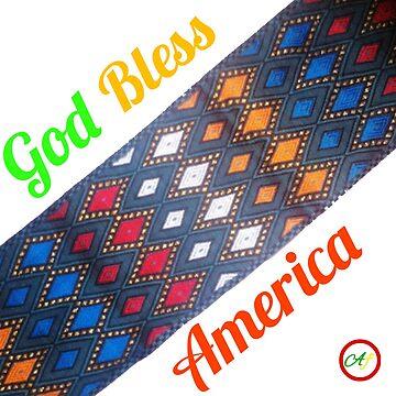God Bless America  by Abelfashion