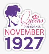 It's My Birthday 91. Made In November 1927. 1927 Gift Ideas. Sticker