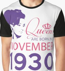 It's My Birthday 88. Made In November 1930. 1930 Gift Ideas. Graphic T-Shirt