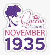It's My Birthday 83. Made In November 1935. 1935 Gift Ideas. Sticker