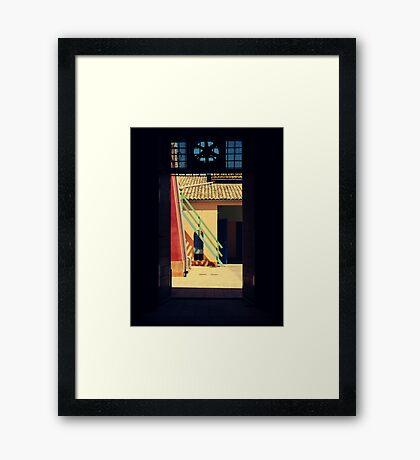 outsideit'sArT Framed Print