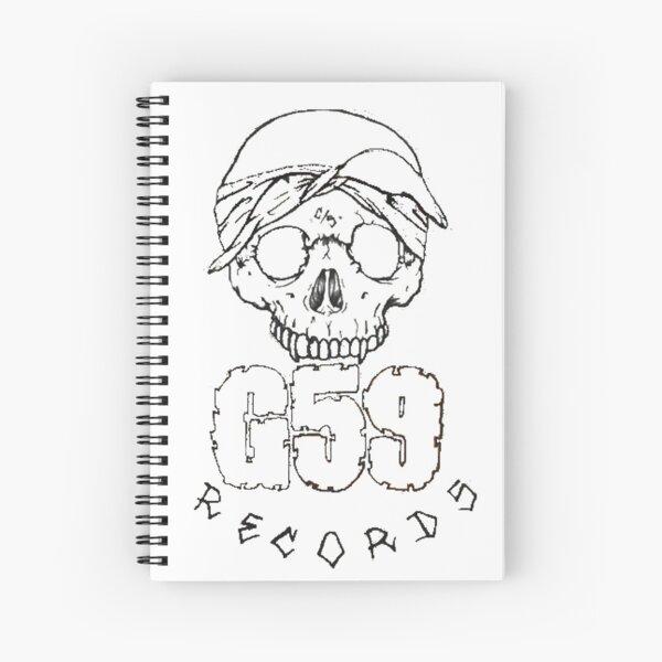G59 Skull Logo Art - Suicideboys Merch Spiral Notebook