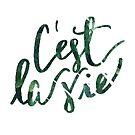 c'est la vie (die cut) by wallabysway