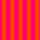 Bright Neon Pink and Orange Vertical Cabana Tent Stripes by podartist