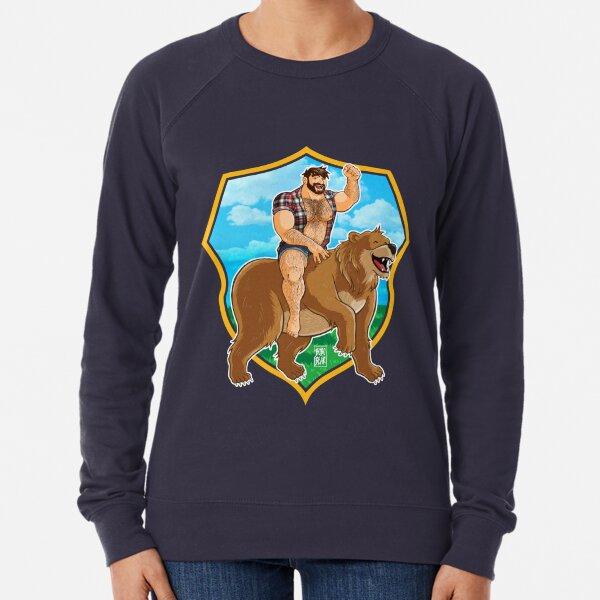 ADAM LIKES TO RIDE BEARS Lightweight Sweatshirt