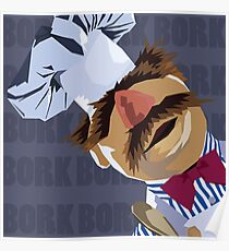 "Swedish Chef ""Bork Bork"" Poster"