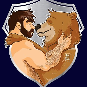 ADAM AND BOBO LIKE CUDDLES - SHIELD VERSION by bobobear