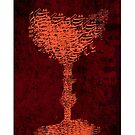 Wineglass Artwork by Chakaame