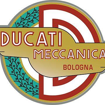 Ducati Classic Logo  - 1958  by fmd159