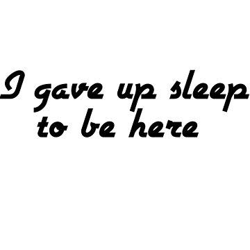 Gave Up Sleep by Animoia