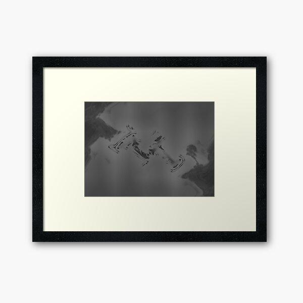 Crow Skin #3 Framed Art Print