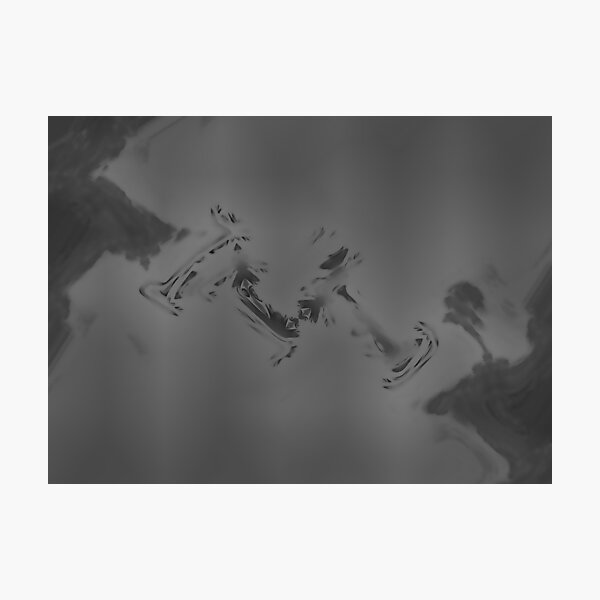 Crow Skin #3 Photographic Print