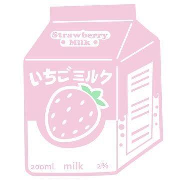Strawberry Milk by AnimePlusYuma