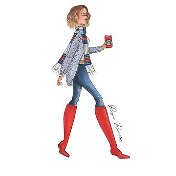 red boots  by reyniramirezfi