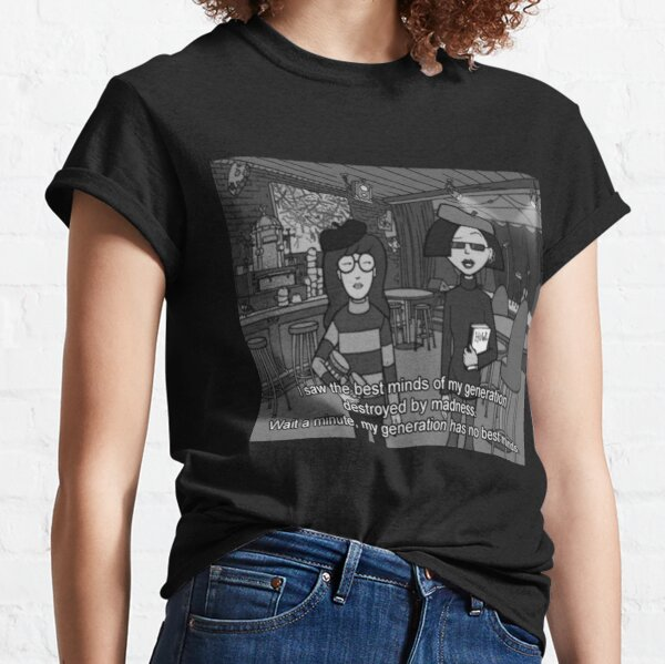Daria and Jane Beat Poets Classic T-Shirt