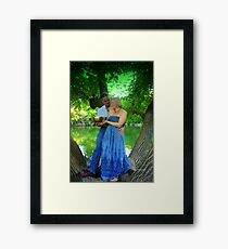 """""""In Love Lies the Seed of our Growth"""" Framed Print"""