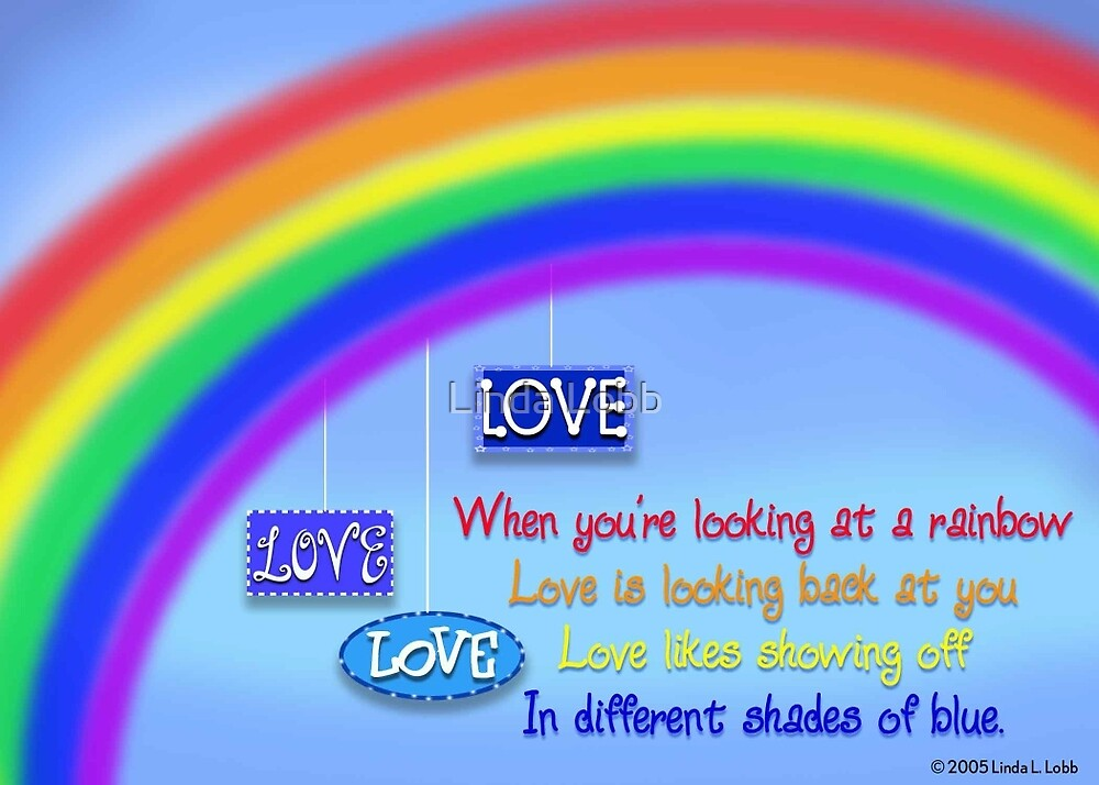Love likes showing off. by Linda Lobb