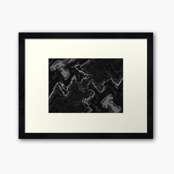 Crow Skin #16 Framed Art Print