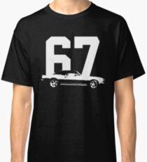 4ae1fe0b 1967 Camaro Side View Grunge Look T-Shirt Classic T-Shirt