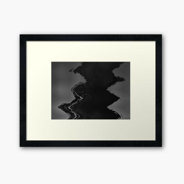Crow Skin #19 Framed Art Print
