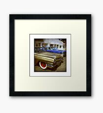 Cadillac Flashback Framed Print