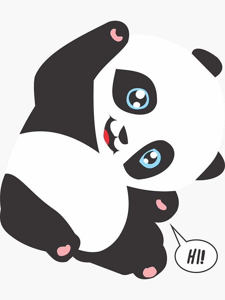 Panda Bear - HI! by culturageekstor