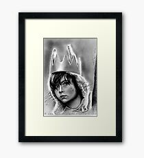 Max, Where The Wild Things Are Framed Print
