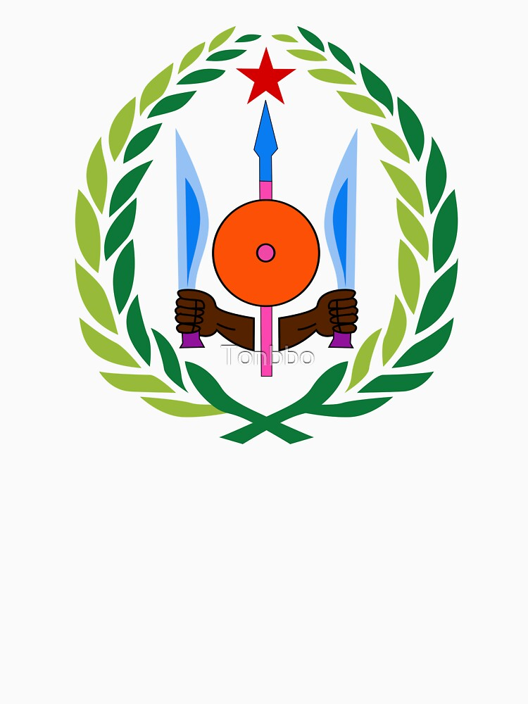 Dschibuti Wappen von Tonbbo