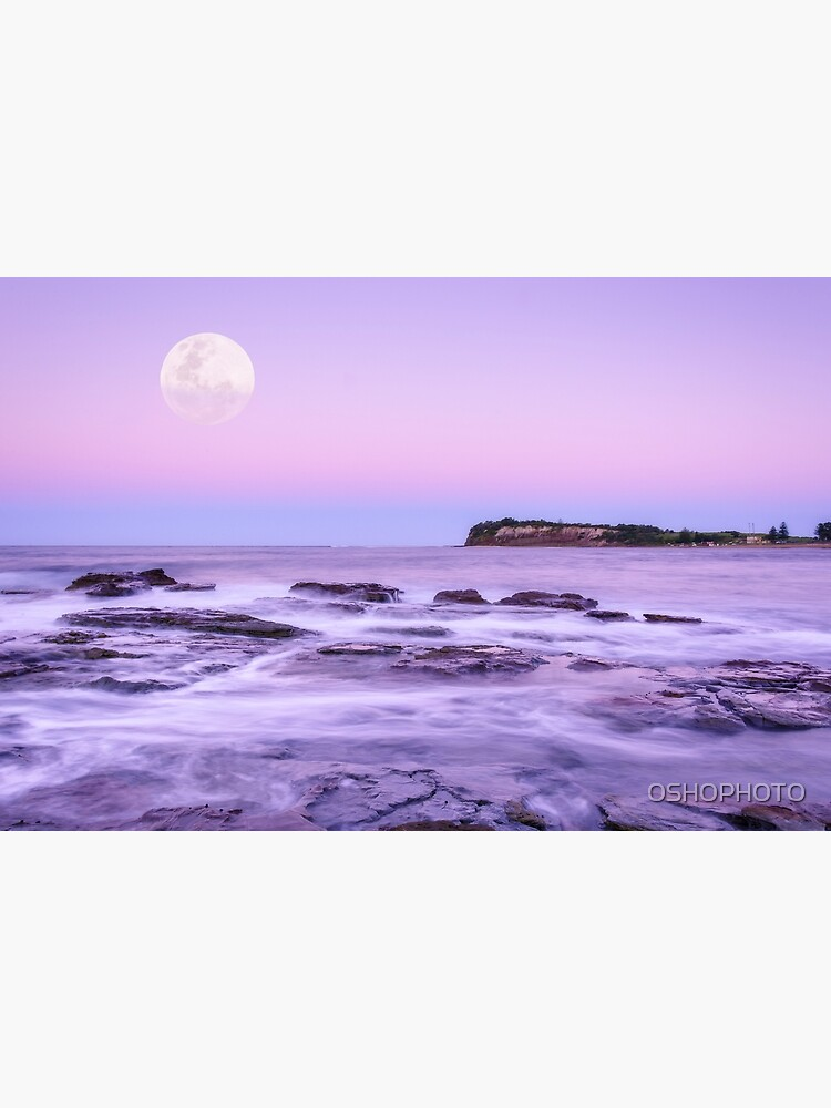 Long Reef Under Lilac Sky by OSHOPHOTO