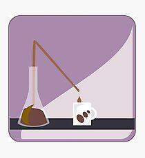 Lab Coffee Photographic Print