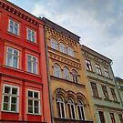 Krakow Beautiful Colorful Houses by TalBright