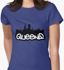 Queens NYC Women's Fitted T-Shirt