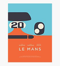 Le Mans Movie Gulf - Layout C Photographic Print