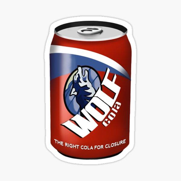 Wolf Cola Sticker