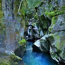 Avalanche Falls by Dave Hampton