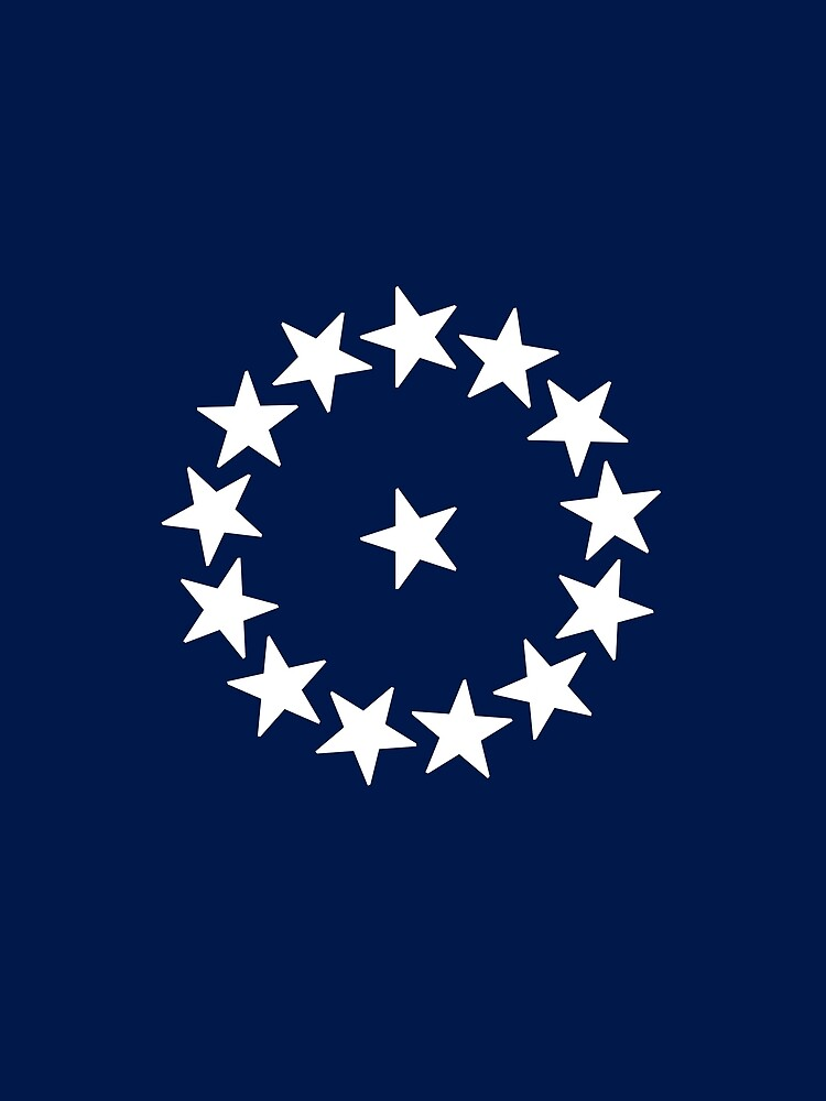 14-Star American Flag, Vermont, Evry Heart Beats True by EvryHeart