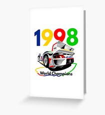 Watercooled Fire Breather – GT1 Inspired Greeting Card