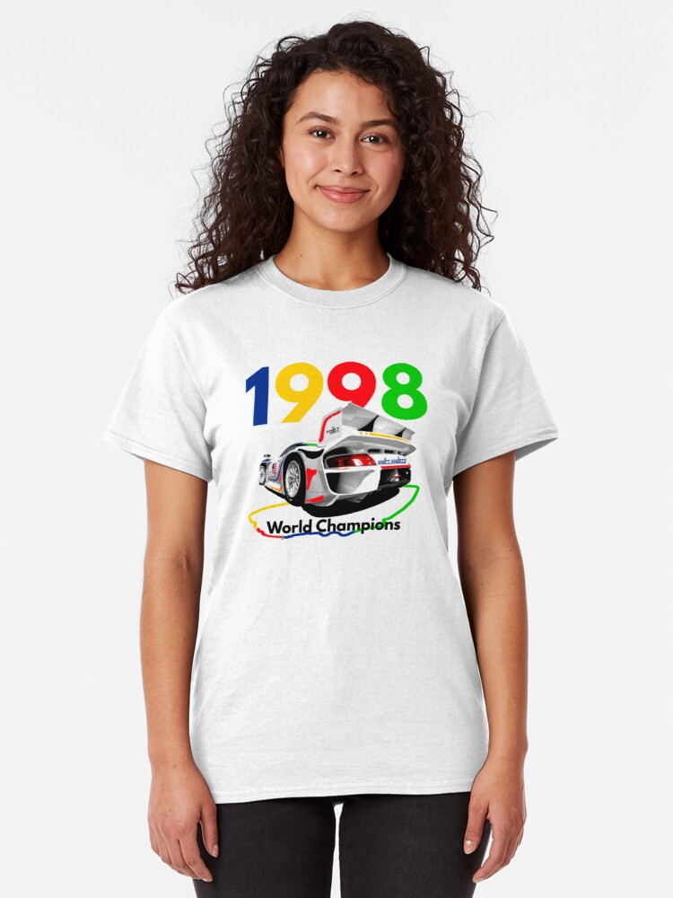 Alternate view of Watercooled Fire Breather – GT1 Inspired Classic T-Shirt