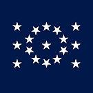 17-Star American Flag, Ohio, Evry Heart Beats True by EvryHeart