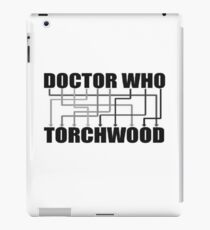 Doctor Who And Torchwood iPad Case/Skin