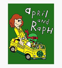 April and Raph Photographic Print