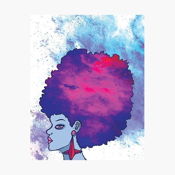 Afrotastic Photographic Print