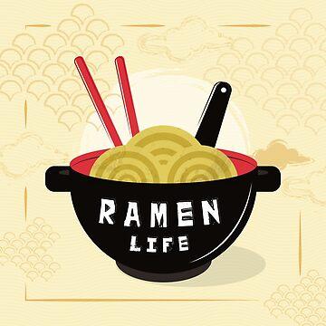 Ramen Life by skretkowiczm