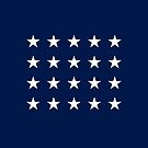 20-Star American Flag, Mississippi, Evry Heart Beats True by EvryHeart
