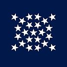 23-Star American Flag, Maine, Evry Heart Beats True by EvryHeart