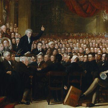 The Anti-Slavery Society Convention - 1840 - By Benjamin Haydon by warishellstore